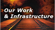 our work & infrastructure